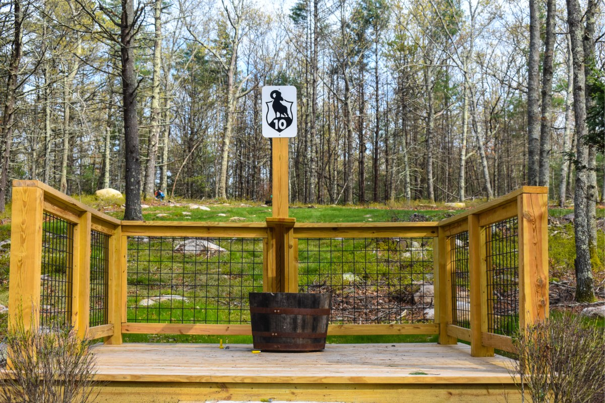 19 Station Sporting Clays Course - Station 10
